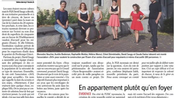 Article journal La Côte 12_07-2017