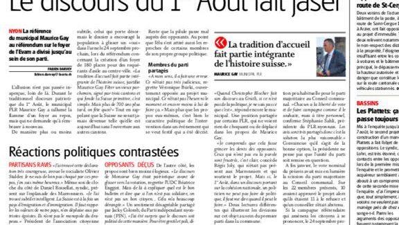 Journal La Côte