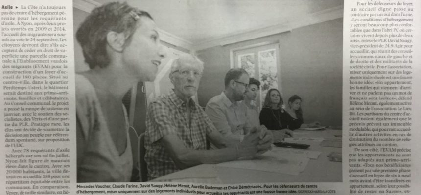 Article du Courrier