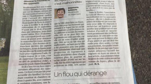 Article La Côte 8.9.2017