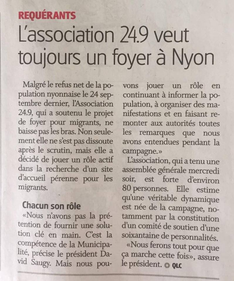 La Côte 3.11.2017