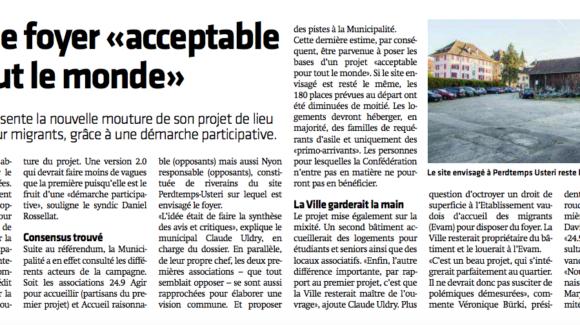 Journal La Côte 22 Mai 2018